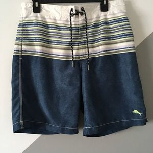Tommy Bahama M Swim Trunks Board Shorts